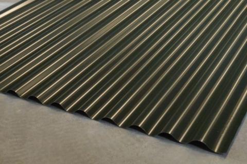 Stalen golfplaten type 20/1000 groen