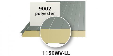 Sandwichpanelen wand interieur 40 of 60 mm dik
