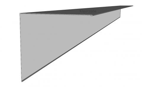 Windveren staal (hoekstuk)
