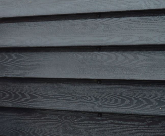Potdeksel profielplaten houtnerf zwart 23/1000